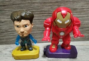 2019 Marvel Avengers Endgame Tony Stark and HULKBUSTER Iron Man McDonald's 2020