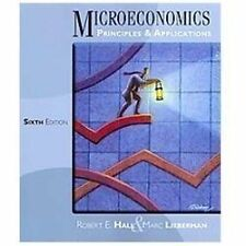 Microeconomics : Principles and Applications by Marc Lieberman and Robert E....