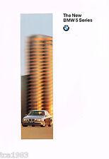 <Early Issue,Mar '96> Lrg. 1997 Bmw 5 Series Sedans Brochure/Catalog: 528i,540i