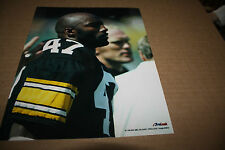 PITTSBURGH STEELERS MEL BLOUNT UNSIGNED 8X10 PHOTO POSE1