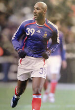 NICOLAS ANELKA - FRENCH INTERNATIONAL FOOTBALLER - SUPERB COLOUR PHOTOGRAPH