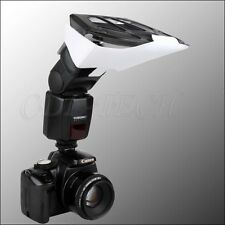 Flash Bounce Reflector Card Diffuser With 3 Colour Reflector for Flash Speedlite