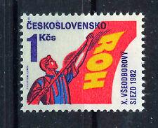 CHECOSLOVAQUIA CZECHOSLOVAKIA 1982  SC.2403  MNH Worker´s Congress