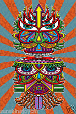 """3D Hungry EyesTapestry 60""""x90"""" Wall Hanging Art by Chris Dyer - FREE 3-D GLASSES"""