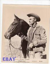 Tab Hunter w/horse Gunman's walk VINTAGE Photo