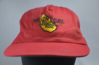 MOUNT GAY BARBADOS RUM RED HAT BASEBALL CAP SNAP BACK MOUNTGAY ECLIPSE NEW OTHER