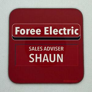 FOREE ELECTRIC - Shaun of the Dead - Coaster / Bar Mat - Sturdy, Gloss, Original