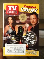 TV GUIDE Magazine 2004 Sept 26-Oct 2 CSI: NY