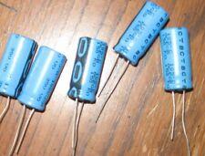 5 X Phillips BC AUDIO CAPACITORS 1000UF 35 VOLT 12MM X 26MM 105*C