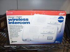Zenith Allegro Wireless Intercom ALG1188 2 Station FM - NOS