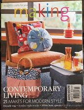 Making Contemporary Living Makes For Modern Style Snacks Nov 2014 FREE SHIPPING!