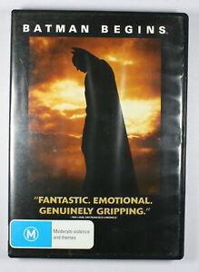 Batman Begins DVD FREE POST