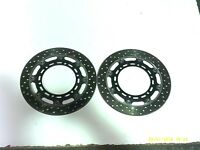 YAMAHA YZF600 R6 1999 PAIR FRONT BRAKE DISC ROTORS