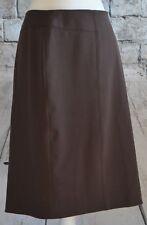 Rafaella Brown Straight Pencil Skirt Women's Size 12