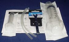 Hydraulic Brake Bleed Kit Syringes, Silicone Tubing & Spanner For Shimano Brakes
