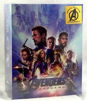 AVENGERS ENDGAME Blu-ray [4K UHD + 2D] Steelbook FANATIC SELECTION OC BOXSET