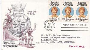 US22) United States Of America 1979 Special Olympics - Skill.Sharing.Joy
