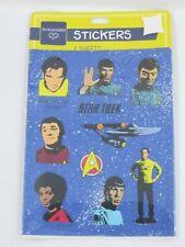 1990 Hallmark Original TV Series Star Trek Stickers Kirk Spock Scotty Uhura~USA!