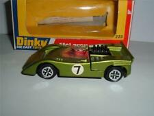 DINKY TOYS 223 McLAREN M8A CAN AM TOGETHER WITH ITS BOX A NICE CLEAN EXAMPLE !!!