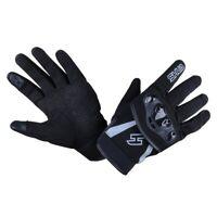 Shua Shot turismo guante de moto textil negro/gris S-3XL