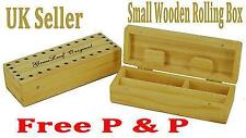 GRASSLEAF WOODEN ROLLING Small BOX ROLL BOX