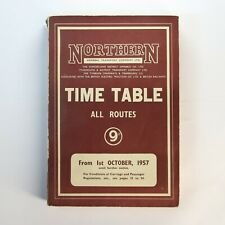 More details for northern general transport company time table all routes oct 1957 + map