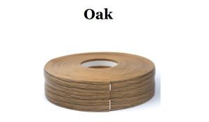 Oak SKIRTING BOARD PVC FLEXIBLE - SELF ADHESIVE PVC 5m - 25m linear metres