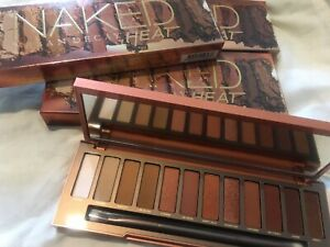 Urban Decay Naked Heat Palette - brand New In Box- Free Gift Ltd Offer