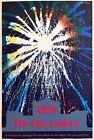 JOHN PIPER RARE VTG 1979 SILKSCREEN PRINT TATE GALLERY POP ART EXHIBITION POSTER
