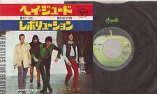 THE BEATLES Hey Jude / Revolution 1968 Japan Single 2nd press Apple AR-2121