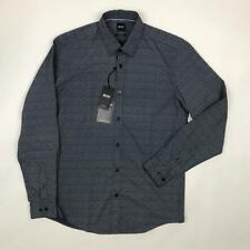 Hugo Boss Lukas Navy Regular Fit Shirt Large *NEW WITH TAGS* £109