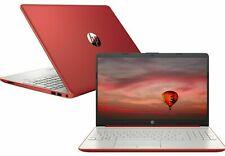 "New listing Hp 15.6"" Pentium 4Gb/500Gb Laptop-Scarlet Red - Brand New Sealed"