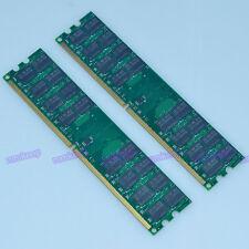New 8GB 2X 4GB DDR2 800 MHz PC2-6400 240PIN Fit AMD Motherboard Dimm memory RAM