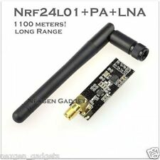 NRF24L01 with antenna V5.0 + PA + LNA wireless Module 1100 meters Long Range