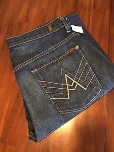 7 FOR ALL MENKIND  THE STONE WASH AUSTYN  STRAIGHT LEG JEANS ($ 34 ) $ 228