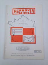 FERROVIA MIDI 1982 146 FELLETIN BOURGANEUF SAINT LEONARD DE NOBLAT AUZANCES