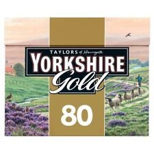 3x Yorkshire Gold Tea 80 Tea Bags 250g
