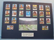 Cleveland Browns led by Jim Brown & Lou Groza - 1964 NFL Champions