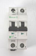 Moeller Leitungsschutzschalter   16A C 15kA   2pol.     FAZ-C16/2   278760