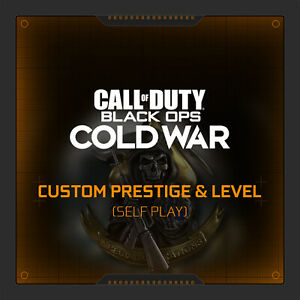 Call of duty cold war custom prestige & level