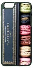 French Macaron Sweet Treats Phone Case For iPhone Samsung S20 LG Google
