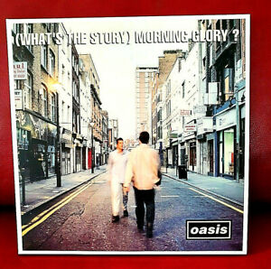 Oasis – (What's The Story-) Morning Glory? LP Vinyl, CRE LP 189, Album - top !