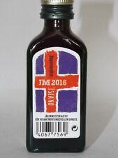 Jägermeister mini flaschen  EM 2016 JM Island Sonderedition 0,02 ml 35% vol