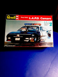 Revell L.A.P.D. Camaro Pro Stock Kit 1:24#7678 No Roof Lights All Other Parts