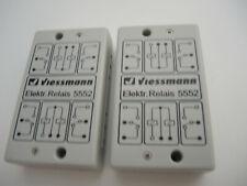 2x Viessmann 5552 Elektrisches Relais