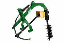 "Hayes 42030 Hydraulic 3pl Tractor Post Hole Digger With Standard 12"" Auger"