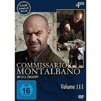 COMMISSARIO MONTALBANO VOL. III 4 DVD NEU