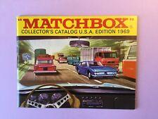 Matchbox Toys - Catalogue - 1969 - USA EDITION - First Edition ( ORIGINAL )