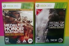 Medal of Honor + Warfighter Limited Edition Game Lot for Microsoft Xbox 360