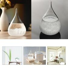 Weather Forecast Crystal Pear Shape Storm Glass Decor Christmas Xmas Gift